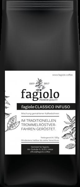 fagiolo CLASSICO INFUSO (gemahlen)